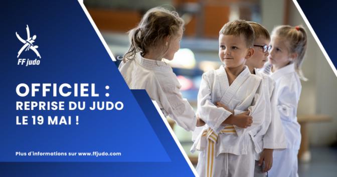 Image de l'actu 'Reprise du judo'