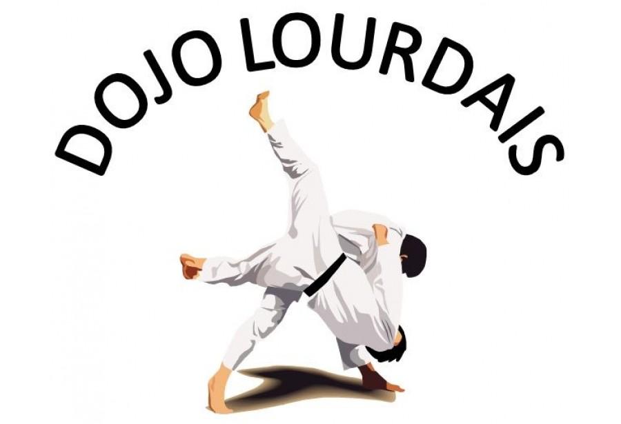 Logo du DOJO LOURDAIS JUDO